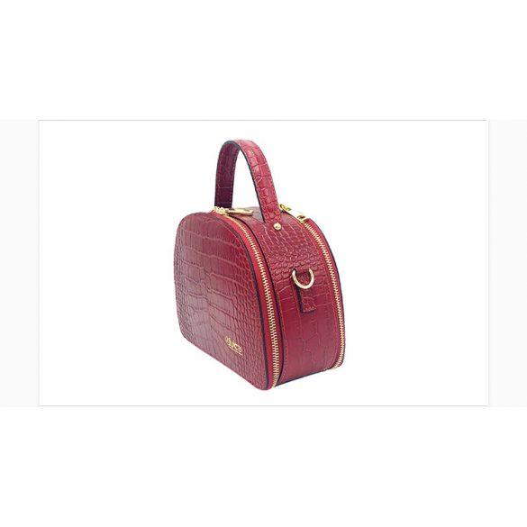 JUICE Olasz bőr bézs croco kézi táska
