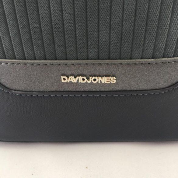 """""""Janet"""" sötétkék David Jones műbőr és textil női hátitáska"""