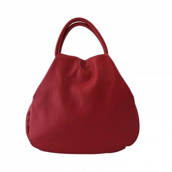 """""""Mila"""" kicsi piros Olasz bőr női divattáska"""