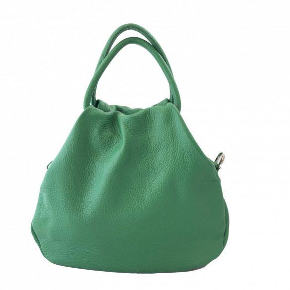 """Mila"" kicsi zöld Olasz bőr divattáska"