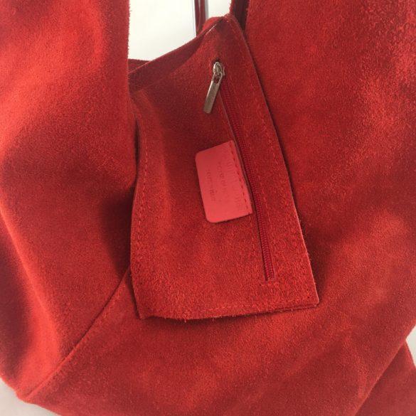 """""""Lioni"""" piros Olasz bőr női shopper táska"""
