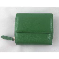 """""""Bellini"""" zöld Olasz bőr női pénztárca"""