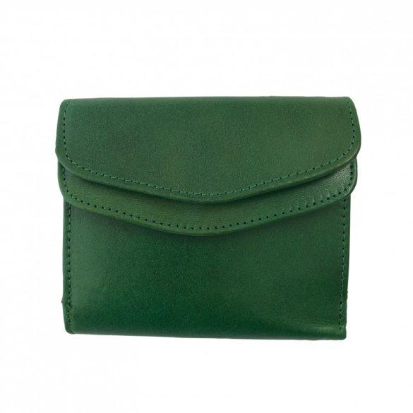 """""""Lili"""" zöld Olasz bőr női pénztárca"""