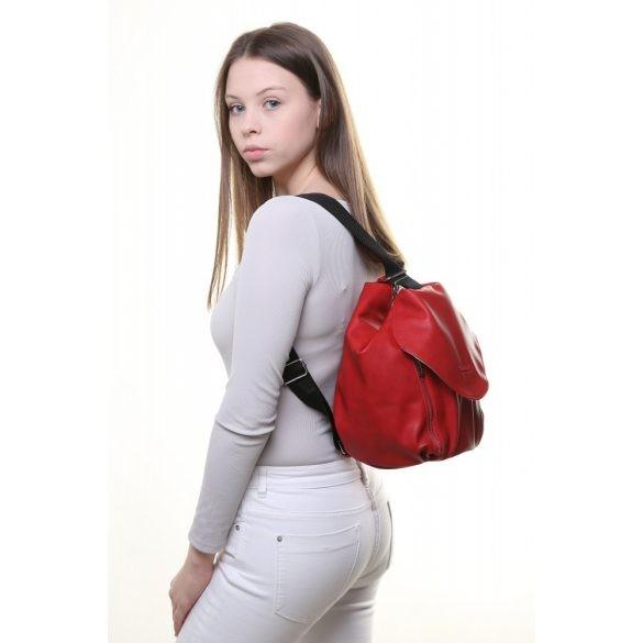 """""""Mistia"""" piros Chiara rostbőr női hátitáska"""