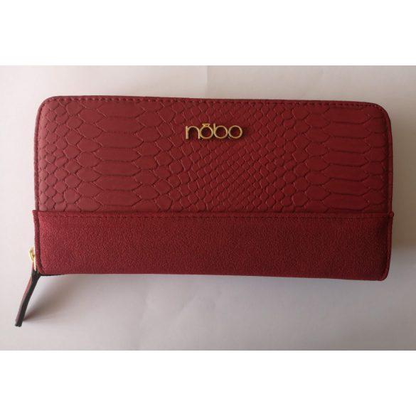 """Lola"" piros NOBO női rostbőr pénztárca"
